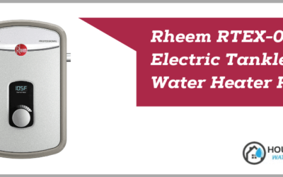 Rheem RTEX-08 Electric Tankless Water Heater Review