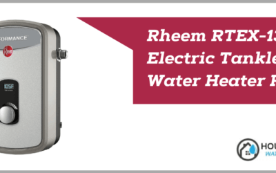 Rheem RTEX-13 Electric Tankless Water Heater Review