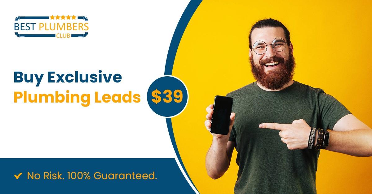buy plumbing leads usa
